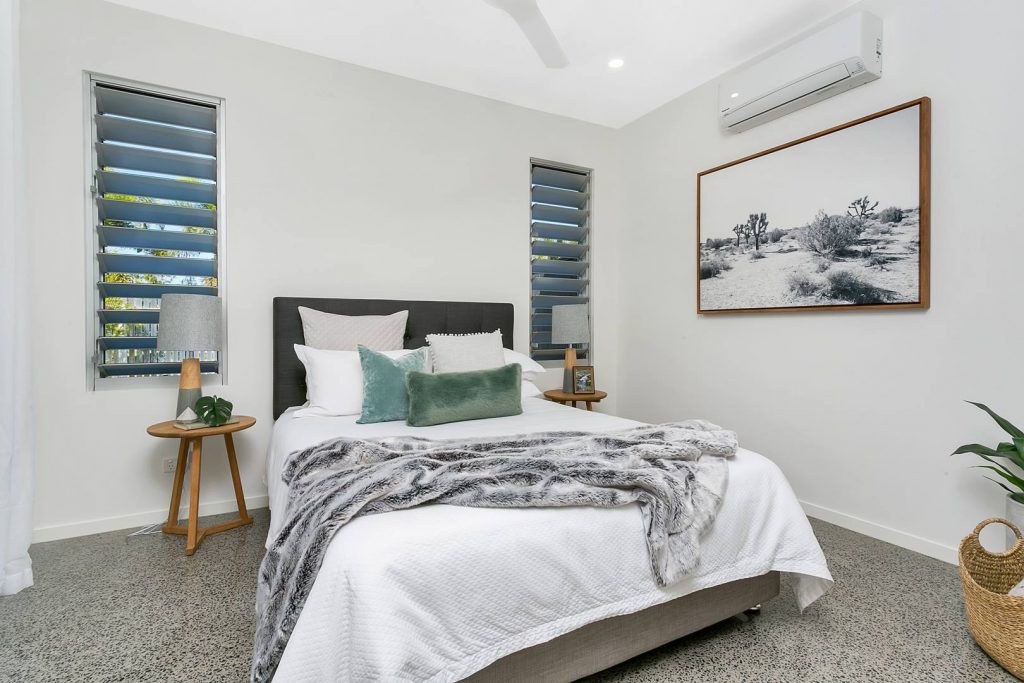 concrete polishing cairns include projects and areas that include bedrooms