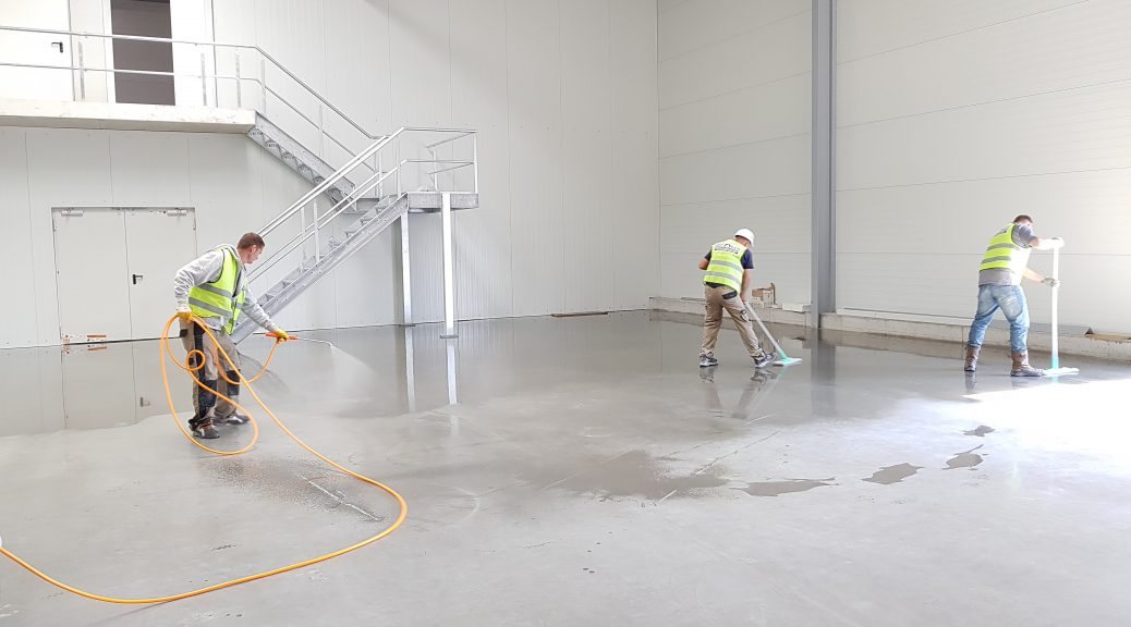 floor preparation for concrete polishing